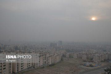 هوای تهران برای گروههای حساس ناسالم میشود
