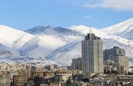 شاخص هوای تهران در ۲۱ دی ماه ۹۷/ هوای پایتخت سالم است