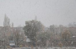 بارش باران و برف زمستانی در چهارمحال و بختیاری