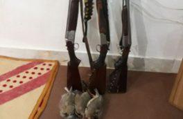 دستگیری شکارچیان غیرمجاز در منطقه هلن