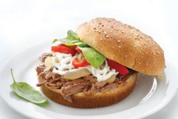 ساندویچ گوشت ایتالیایی را برای سرکار آماده کنید