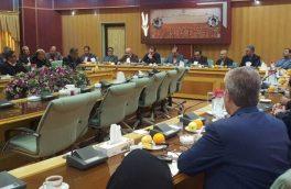 برگزاری جلسه چگونگی پایش و نظارت بر کالاهای اساسی کشاورزی درجهاد کشاورزی استان مرکزی