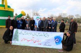 همایش کاشت ۴۰ اصله نهال توسط مخابرات منطقه آذربایجان غربی/ تصاویر