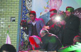 وداع با شهدای مدافع امنیت در فلاورجان
