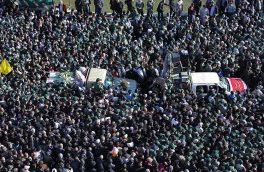 قدردانی لشکر ۱۴ امام حسین (ع) از حضور مردم اصفهان و سیستان و بلوچستان در تشییع پیکر شهدای امنیت
