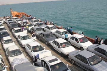 تردد مسافران در مسیرهای دریایی قشم ادامه دارد