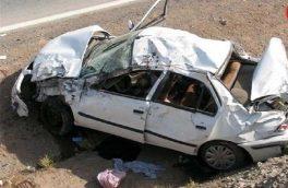 حادثه رانندگی در نائین یک کشته و پنج مصدوم برجا گذاشت
