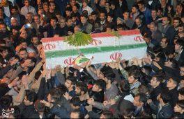 پیکر شهید علی خادمی در خمینیشهر تشییع شد + تصاویر