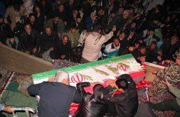 شب وداع با شهدای مدافع امنیت، شهیدان محسن صفری و محمد تقی مهرابی/ تصاویر
