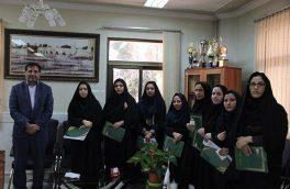 شهردار فلاروجاناز بانوان شاغل در شهرداری تقدیر کرد/ تصاویر