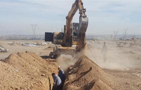 فاز اول خط آبرسانی به کشتارگاه صنعتی نجف آباد با اجرای ۳۰۰۰ متر لوله گذاری به پایان رسید