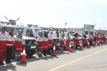 به کار گیری بیش از ۲۵۰ خودرو در طرح امداد و نجات نوروز
