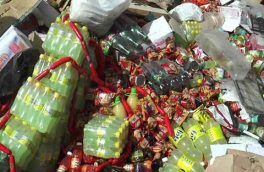۵۲۰ کیلوگرم مواد غذایی فاسد در سمیرم معدوم شد