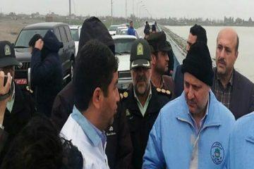 استاندار گلستان از سد گلستان بازدید کرد/ سد سالم است مردم به شایعات توجهی نکنند
