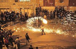 جراحت ۲۱ گیلانی بر اثر آتشبازیهای چهارشنبه آخر سال