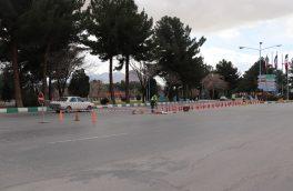 ۶ نقطه حادثه خیز جاده ایی در شهرضا ایمن سازی شد