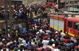 تلفات حادثه ریزش ساختمان در نیجریه به ۲۰ تن رسید