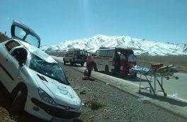 واژگونی خودرو در گلپایگان ۷ مصدوم برجا گذاشت