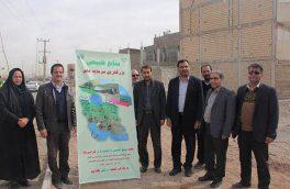 کاشت نهال درختان مقاوم به کم آبی توسط شهردار، ریاست و اعضای شورای اسلامی شهر فلاورجان+ تصاویر