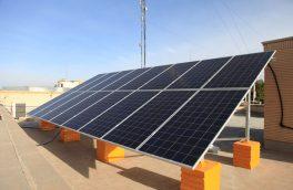 احداث نیروگاه خورشیدی ۵ کیلوواتی در شهرداری مبارکه