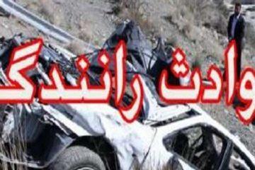 ۳ کشته در سوانح رانندگی در استان مرکزی