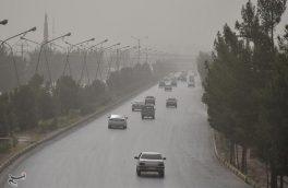 رگبارهای پراکنده و وزش باد شدید در اصفهان ادامه دارد؛ گرد و خاک و کاهش دید افقی در شرق استان