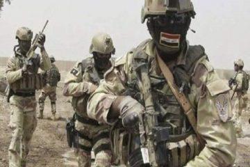 عملیات ضد تروریستی ارتش عراق در «دیالی»/ هلاکت ۵ عنصر تکفیری