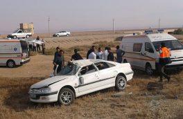 سوانح رانندگی در داران و انارک ۱۰ نفر را مجروح کرد