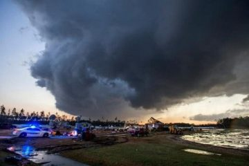 افزایش تلفات طوفان در جنوب آمریکا