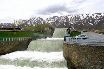آبدهی چشمه لنگان فریدونشهر به بیشترین میزان رسید