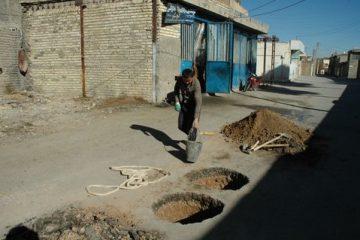 کاهش ۹۰ درصدی آبگرفتگی معابر با حفر چاههای جذبی