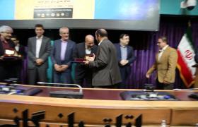 شرکت آب و فاضلاب استان اصفهان در چهاردهمین جشنواره روابط عمومی استان موفق به کسب عنوان روابط عمومی سرآمد گردید