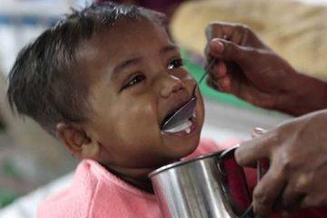 حمایت کمیته امداد اصفهان از ۴۱۹۲ کودک دچار سوءتغذیه