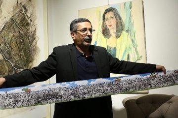 آرزوی عکاس خرمشهری برای چاپ کتابی از دیوارنوشتههای عراقی
