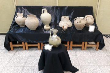 نویافته های باستانی شمال استان در دانشگاه کاشان به نمایش درآمد