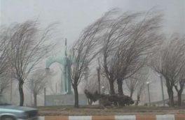 رگبار و وزش باد شدید در دامنه های زاگرس جنوبی و مرکز کشور