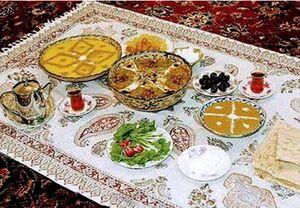 برنامه جامع و کامل غذایی برای ۳۰ روز ماه رمضان