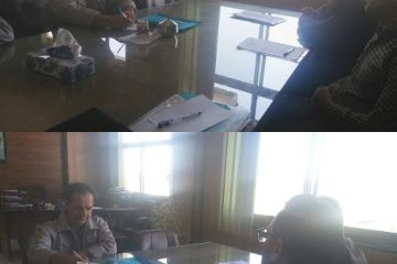 نشست با نمایندگان تصفیه خانه شمال اصفهان در خصوص جذب مشترکین بالاتر از یک مگاوات