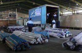 کمیته امداد اصفهان ۳۰۰۰ تخته فرش به مناطق سیلزده فرستاد