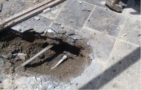 کشف یک فقره انشعاب آب غیر مجاز در رضوانشهر شهر تیران