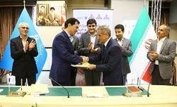 قرارداد خدمات مهندسی و خرید احداث تصفیه نفت کوره پالایشگاه اصفهان امضا شد