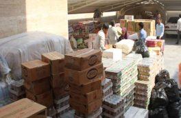 کمک یک میلیاردی بسیج اصناف برای تهیه کالاهای اساسی به سیلزدگان لرستانی
