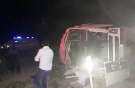 واژگونی تریلی در سمیرم پادنا جان یک نفر را گرفت