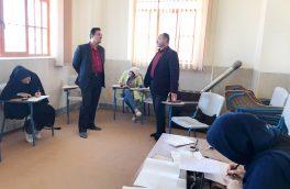برگزاری آزمون پایان دوره خوشنویسی در شهرستان آران و بیدگل