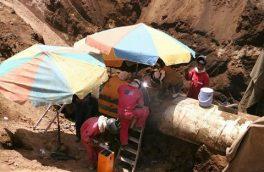 پایان تعمیر خط لوله ۳۶ اینچ نفت صادراتی