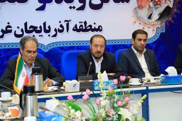 برگزاری همایش استانی حوزه مقاومت بسیج پایگاه شهید مطهری مخابرات آذربایجان غربی