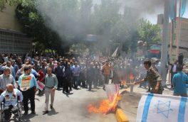 حضور شهردار فلاورجان در راهپیمایی روز قدس