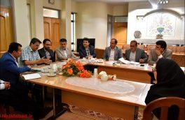 برگزاری جلسه دپوی قطار شهری نجف آباد