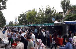 برگزاری نمایشگاه صنایعدستی و سوغات محلی در پیاده راه اکباتان