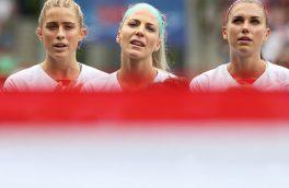 مرحله یک هشتم نهایی جام جهانی فوتبال زنان به روایت تصویر